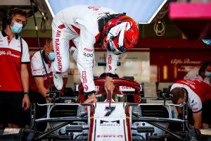 Kimi Raikkonen GP Wielkiej Brytanii 2020