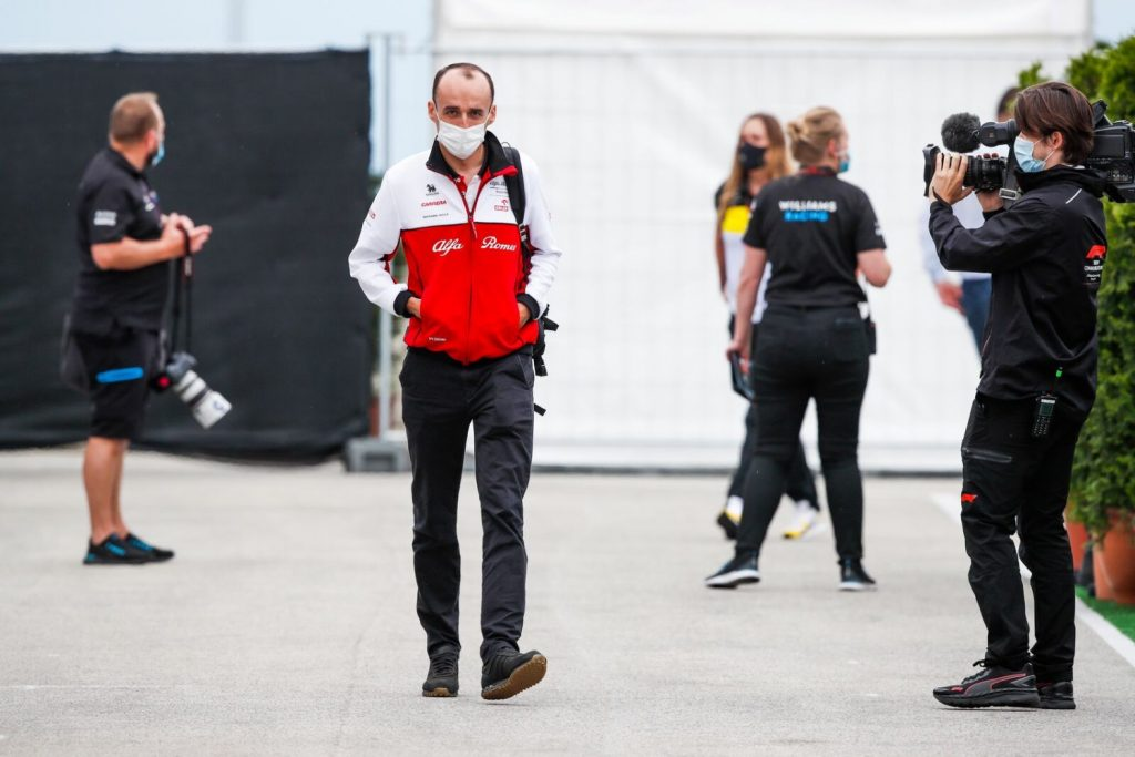 Robert Kubica Grand Prix Węgier 2020