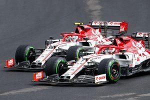 Giovinazzi Raikkonen GP Węgier 2020