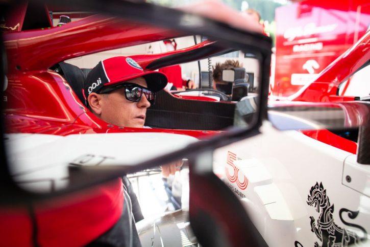 Kimi Raikkonen GP Belgii 2020