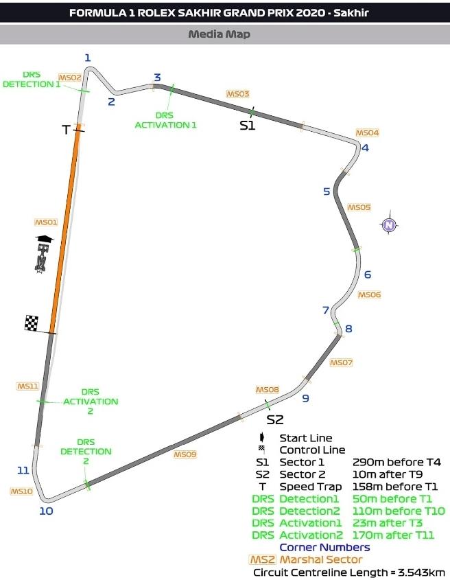 mapa sakhir