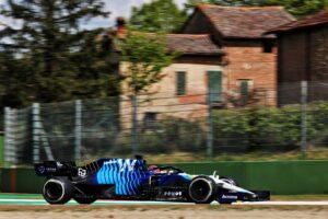 Motor Racing - Formula One World Championship - Emilia Romagna Grand Prix - Practice Day - Imola, Italy